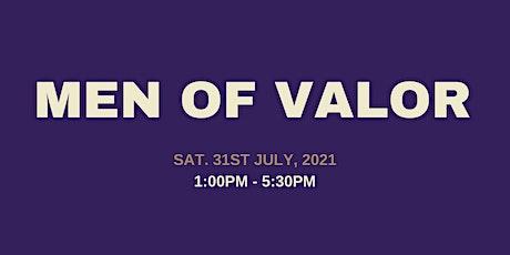Men of Valor tickets