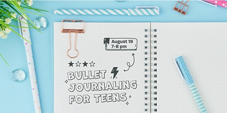 Bullet Journaling for Teens tickets