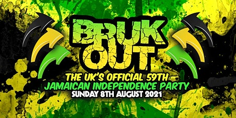 Bruk Out - Official 59th Jamaican Independence Party tickets