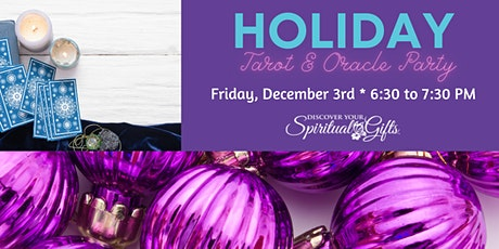 Holiday Tarot & Oracle Card Party tickets