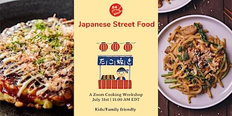 Japanese Street Food tickets