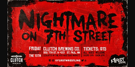 Nightmare on 7th Street - Presented by Clutch Brewing Company tickets