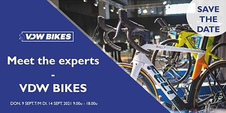 Meet the Experts by VDW Bikes tickets