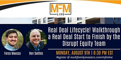 Real Deal Lifecycle! Walkthrough a Real Deal with the Disrupt Equity Team tickets