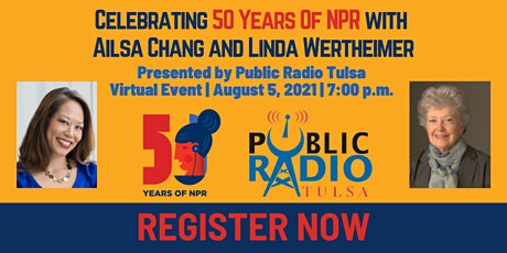 Celebrating 50 Years Of NPR with  Ailsa Chang and Linda Wertheimer tickets