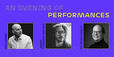 An Evening of Performances tickets