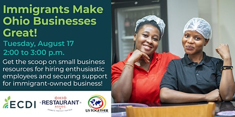 Immigrants Make Ohio Businesses Great! tickets