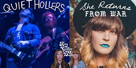 Quiet Hollers x She Returns From War w/ Katy Guillen & The Drive tickets