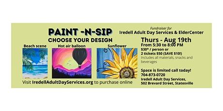 Summer Paint-n-Sip Party tickets