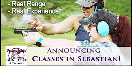 Basic Firearm Use and Safety/ Concealed Carry: Mid-Week Sebastian: Aug2021 tickets