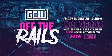 """GCW Presents """"Off The Rails"""" tickets"""