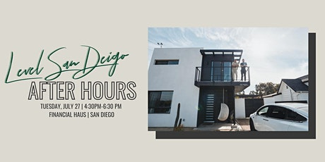 San Diego Happy Hour at Financial Haus tickets