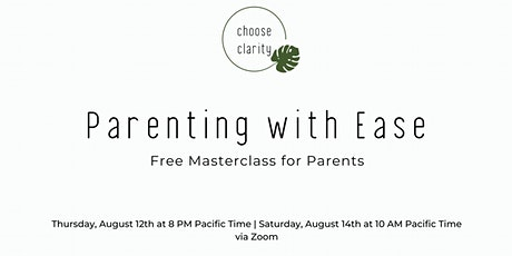 Parenting with Ease tickets