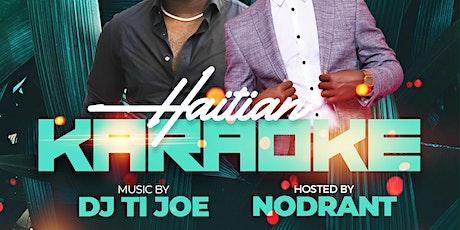 Haitian Karaoke tickets