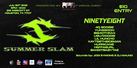 RMR COLLECTIVE SUMMER SLAM FESTIVAL tickets
