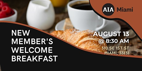 New Member's Welcome Breakfast tickets