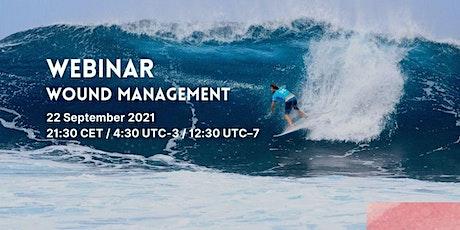 Surfing Medicine International Webinar - Cases on wound management tickets