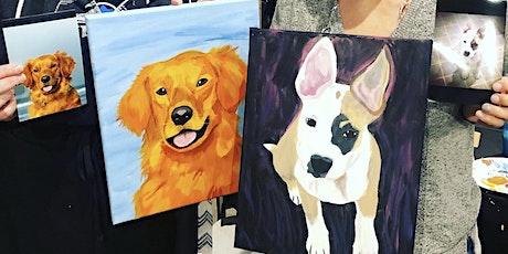Pet Portrait Painting Class @ Divine Distillers tickets