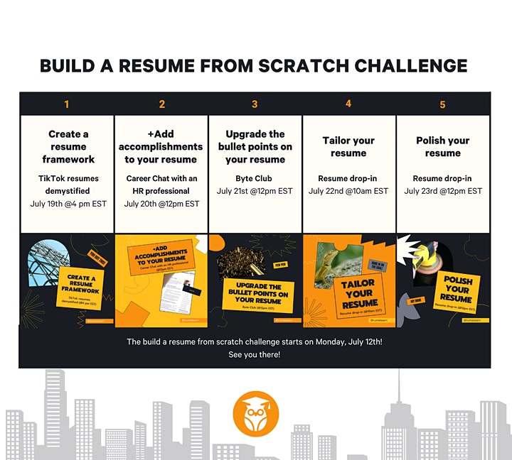 Build a Resume From Scratch Challenge image