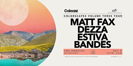 Dreamstate presents Colorscapes Volume Three Tour tickets