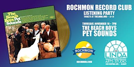 Rochmon Records Listening Club - The Beach Boys Pet Sounds tickets