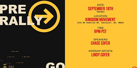 Pre Rally with Kingdom Movement tickets
