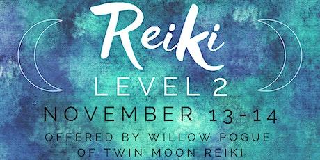 Reiki Level 2 Training tickets
