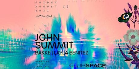 John Summit @ Club Space Miami tickets