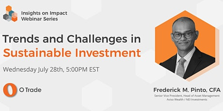 Trends and Challenges in Sustainable Investment tickets