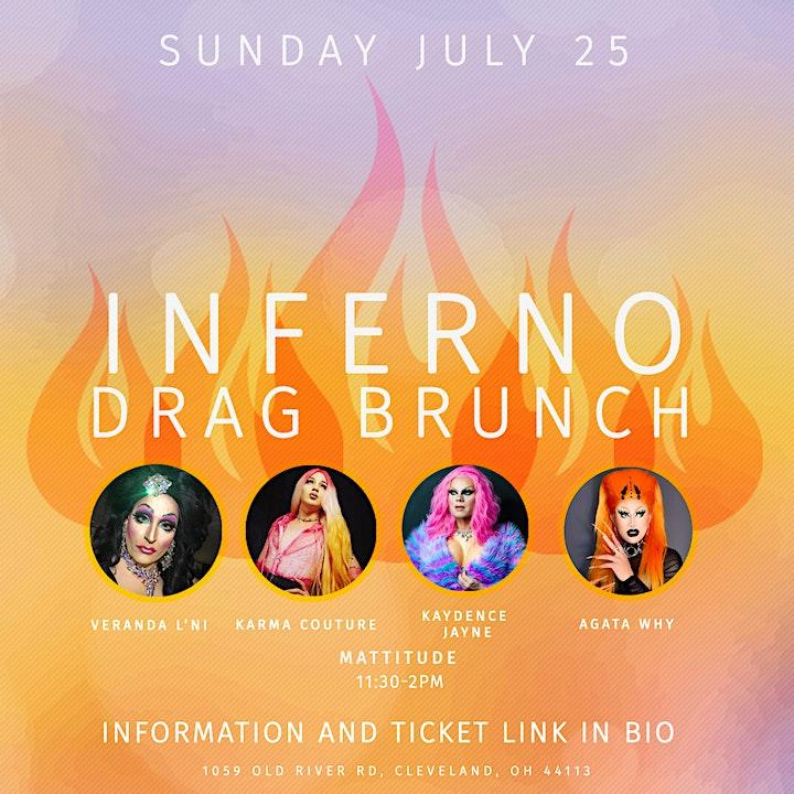 Inferno Drag Brunch - July 25th image