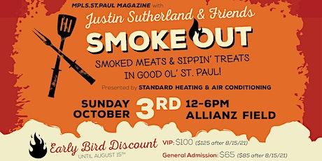 SmokeOut 2021: Mpls.St.Paul Magazine + Justin Sutherland & Friends tickets