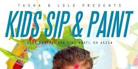 "Tasha and Lolo's ""Kids Sip n Paint"" tickets"