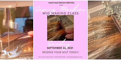 Beginner Wig Sewing Machine Classes tickets