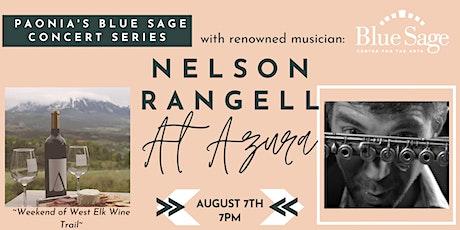Nelson Rangell at Azura tickets