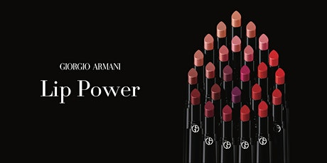 Giorgio Armani Beauty Lip Power Digital Event tickets