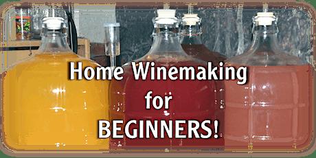 Beginner Home Wine Making Class tickets