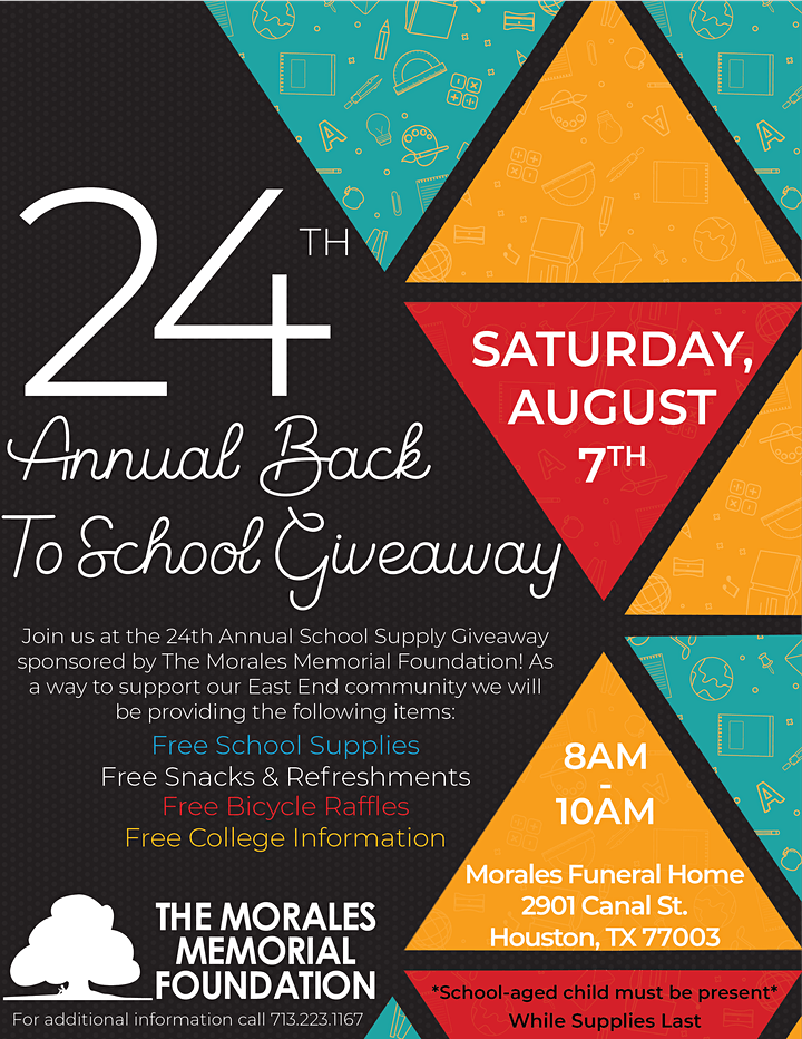 24th Annual Back To School Supply Giveaway image