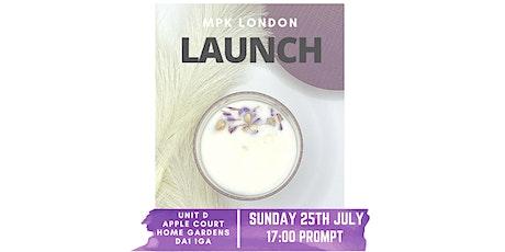 MKP London Launch tickets