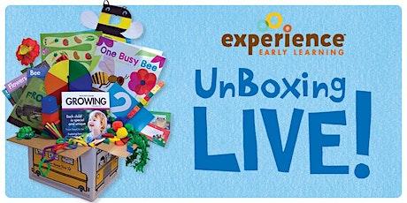 UnBoxing Experience Preschool Curriculum tickets