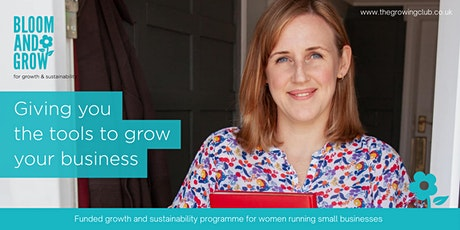 Bloom & Grow, business growth programme tickets