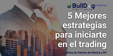 5 Mejores estrategias para iniciarte en el trading de Bolsa de Valores boletos