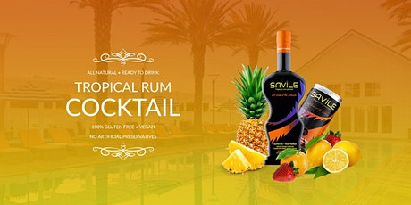 #FREEsips w/ Saville Tropical Rum Ready-To-Drink Cocktail tickets