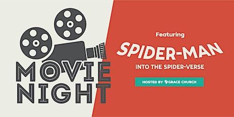 Free Outdoor Movie Night in Peabody! Spider-man: Into the Spider-Verse tickets