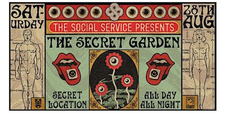 The Social Service Presents : The Secret Garden (B.Y.O.B) Plus Return Bus tickets