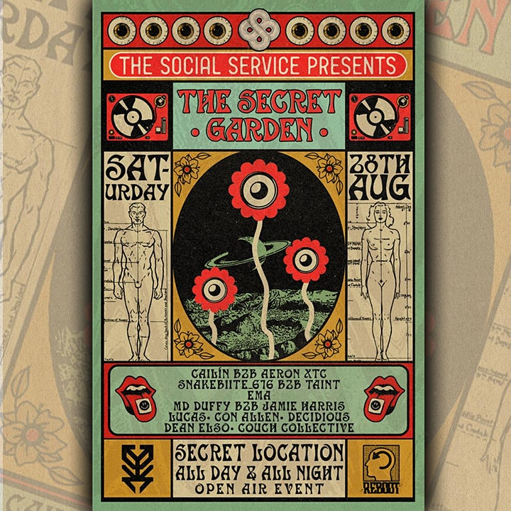 The Social Service Presents : The Secret Garden (B.Y.O.B) Plus Return Bus image