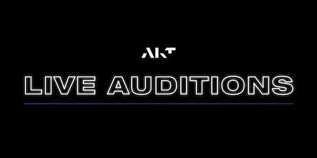 AKT Mason & Liberty Trainer Auditions tickets
