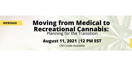 Moving from Medical to Recreational Cannabis tickets