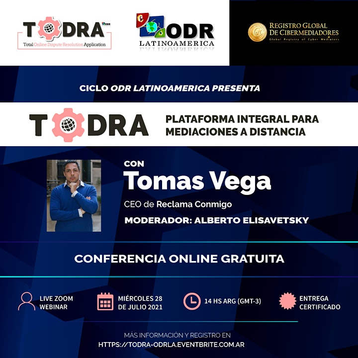 Imagen de TODRA: plataforma integral para mediaciones a distancia