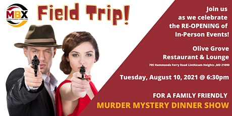 """Murder Mystery Dinner Show of """"Catastrophe at the Cinema"""" [FIELD TRIP] tickets"""