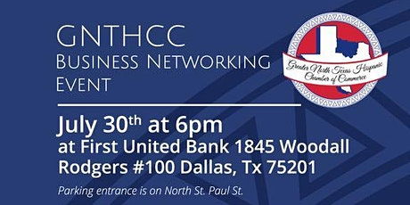 GNTHCC Monthly Networking tickets